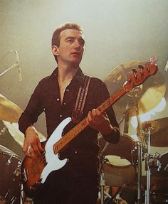 John Deacon: Originally the Bassist for Queen. Currently RETIRED
