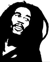 bob marley stencil images - Google Search