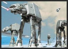 Star Wars - All Terrain Armored Transport (AT-AT) Walker Ver.4 Free Paper Model Download - http://www.papercraftsquare.com/star-wars-terrain-armored-transport-walker-ver-4-free-paper-model-download.html