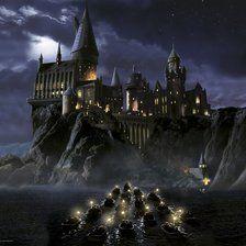 Hogwarts - the beginning....wall mural