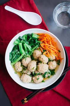 "Last month I had the pleasure of contributing to Melissa Joulwan's awesome meatball recipe collection, ""March Meatball Madness."" My dish, Bakso, is one of my favorite ways to eat …"