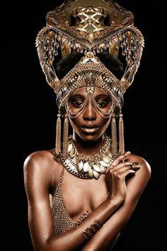 47 Ideas jewerly photography styling headdress for 2019 Black Women Art, Beautiful Black Women, Black Girls, African Beauty, African Women, African Fashion, Photography Poses Women, Fashion Photography, Popular Photography