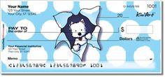 KiniArt™ Westie Terrier checks by Kim Niles