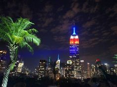 Sip a cocktail at one of New York's rooftop bars. We recommend 230 Fifth for its rooftop garden, stellar view of the Empire State Building, and strong drinks.