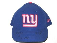 Kerry Wynn Signed New York Giants Breast Cancer Awareness New Era Official  On Field 59FIFTY Cap b2fa605a4b4c