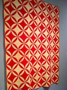 Robbing Peter to Pay Paul quilt circa 1850, Brooklyn Museum