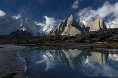 K6 in the Hushe Valley, Pakistan, by Rizzwan Saddique