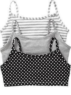 Women's Comfort-Bra 3-Packs Color: Gray Combo $14.94