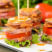 BLT Potato Salad Stacks | Magnolia Days