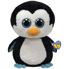 The Paper Store Ty® Waddles the Penguin - Large Beanie Boo's