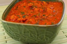 It's How to Use Garden Tomatoes Week:  Roasted Tomato, Italian Sausage, and Basil Sauce from Kalyn's Kitchen