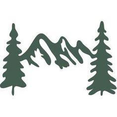 mountains silhouette clip art clipart panda free clipart images rh pinterest com Mountain Clip Art Black and White mountain bike clip art silhouette