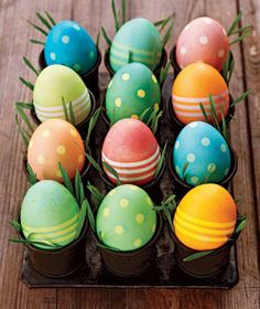 Easter decorating: using colourful easter eggs - Yahoo!7