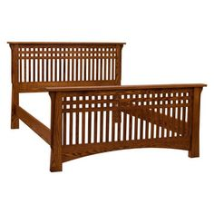 Bungalow Queen Bed- Red Oak from Beds category is hand made by finest amish craftsmen specialized in mission and solid wood furniture Simple Furniture, Solid Wood Furniture, Bed Furniture, Furniture Plans, Furniture Design, Furniture Assembly, Cama Design, Wooden Sofa Set Designs, Bed Designs