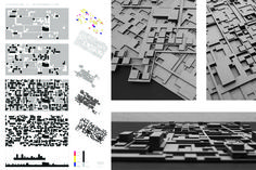 mutation I - Stacking up/ vertical accumulation of courtyards