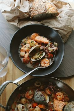 Seafood Stew // A Thought For Food