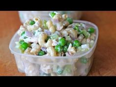 Clean Eating Tuna Pasta Salad -1 cup diced onion 1 cup diced celery 2 cans of chunk light tuna packed in water and drained 3 cups, pre-cooked whole grain pasta 1 cup frozen peas, defrosted 2 tbsp mayo 1/2 cup fat free plain Greek yogurt 1 tbsp red wine vinegar Salt and pepper to taste