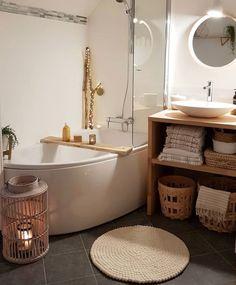 House, Cozy House, Stylish Bathroom, Home Deco, Bathroom, Tiny House Trailer, Bathrooms Remodel, Bathroom Decor, Bathroom Inspiration