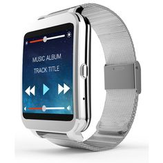 I95 Android Bluetooth 4.3 reloj inteligente 1.2 GHz 300 MHz Dual Core CPU WIFI 512 M RAM 4 G ROM del ritmo cardíaco para teléfonos Android smartwatch