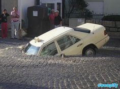Unusual Car Accident #humor #lol #funny