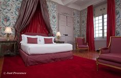 Chateau Puyricard, luxury  chateau rental, Provence, France.
