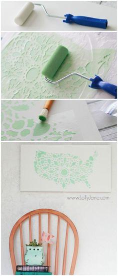 Pacote criativo DIY Wall Art Por Beginners-usefuldiyprojects.com (12)