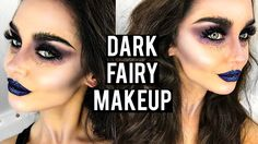 Dark / Evil Fairy Halloween Makeup Tutorial | KatesBeautyStation