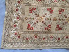 Gallery.ru / Фото #130 - #2 - kento Creative Embroidery, Folk Embroidery, Cross Stitch Embroidery, Cross Stitch Patterns, Knitting Patterns, Vintage Apron Pattern, Aprons Vintage, Needlepoint Designs, Point Lace