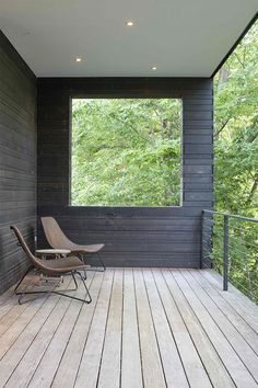 Modern house with a green roof terrace, House Design, Green Roof, Modern Porch, Modern House, House Exterior, Green Roof House, Modern Landscaping, Roof Covering, Balcony Design