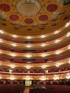 Barcelona - Grand Theater of the Lyceum Opera House, BARCELONA, SPAIN