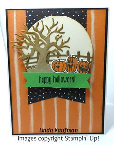 Linda K's Stampin' Page: Stampin' Up! Spooky Fun Stamp Set and Halloween Scenes…