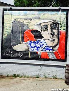 Louisville, KY - Hunter S. Thompson Mural