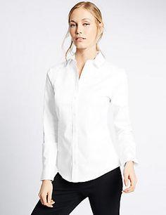 Long Sleeve Perfect Shirt Fuller Bust