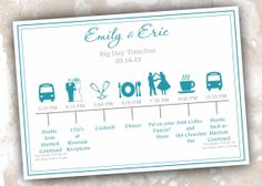 wedding timeline cards printable wedding day itinerary wedding schedule of events wedding weekend bag