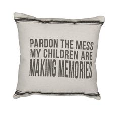 Funny Family Pillow