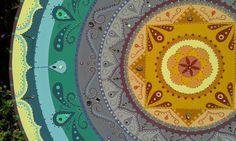 ♥ 9 - 90cm de Mandala