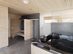 Fi badezimmer ~ Modern sauna and bath tub badezimmer sauna