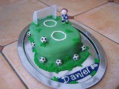 small football birthday cakes