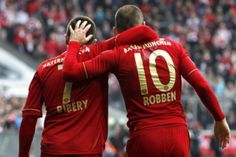 Robben y Ribery habrían dejado atrás su problema en vestidores   FOTO: AP