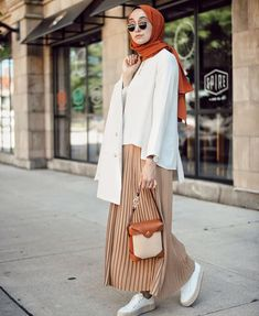 Hijab Fashion Casual Skirt Outfit Ideas To Copy - image:@elifd0gan - Looking for Inspiration On How To Wear Skirt Outfits, Casual Hijab Outfit With Skirt, Summer Hijab Outfit With Skirt, Street Style Skirt, Then Keep Reading For Inspo On Street Hijab Fashion, Chic Skirt Hijab Outfit, Black Skirt Hijab Outfit Casual Outfits With Modest Skirts, Classy Modest Outfits And Much More. #modestdressescasual #hijabfashioninspiration #hijabstylecasual #summerstyle #hijabfashion #hijaboutfit