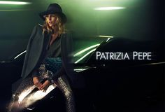 Anja Rubik by Mert & Marcus for Patrizia Pepe Fall 2012 Campaign