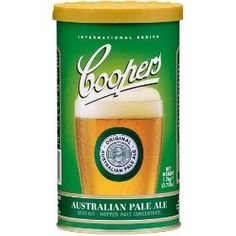 Coopers Australian Pale Ale Home Brew Kit Home Brew Beer Kit, Home Brew Shop, Beer Brewing Kits, Home Brewing, Beer Kits, Coopers Beer, Australian Beer, Pale Ale Beers, Aussie Food