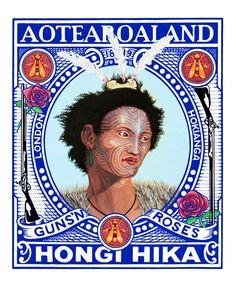 Aotearoaland Lester Hall, Artist, Bay of Islands, Kiwiana Series