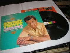 1967 Conway Twitty Country LP Decca Stereo DL-74913