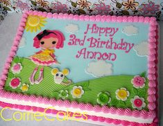 Loopsy birthday - by Corrie @ CakesDecor.com - cake decorating website