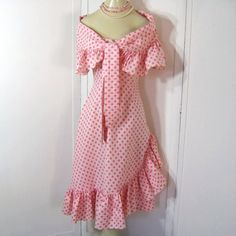 Vintage 50s Dress and Shawl Strapless Boned by JuneeMoonVintage, $88.00