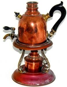 copper coffee machine