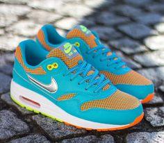 Nike Air Max 90 GS Photo Blue Volt Orange