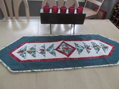 Heirloom quality  Christmas Table Runner by KaTerryTheSewSisters