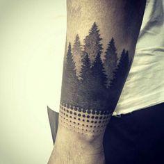 Nature Arm Tattoo